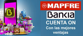 Cuenta on Bankia Mapfre